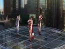 Kasumi Mai Shiramui Tifa Lockhart topless dancing