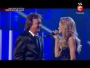 Аида Николайчук и Крис Норман...