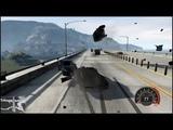 GTA 5 Grand Theft Auto 5 АВАРИИ НА ШОССЕ #2