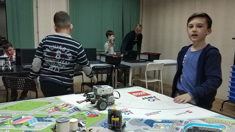 Первая миссия Hydro Dynamics FFl First Lego League Замена поломанной трубы