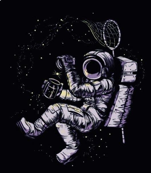 break dancing astronaut drawing - 500×613