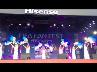 Шоу-балет Тодес на #FIFAFanfest 25 июня