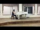 Александра Азарова ударные инструменты II курс