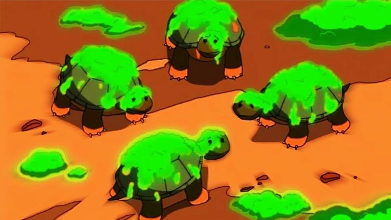 Черепашки Ніндзя Нові Пригоди 2003 - 1 Сезон 3 Серія (Мишача Атака) Мультфильмы Для Детей