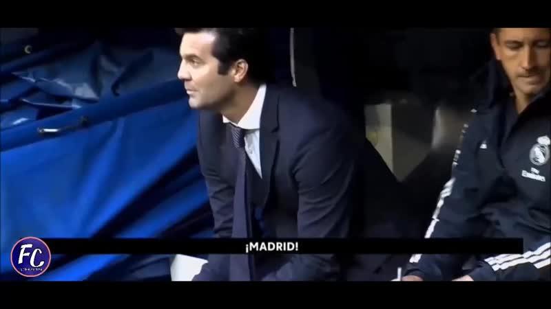 Solari singing Hala Madrid y Nada Más