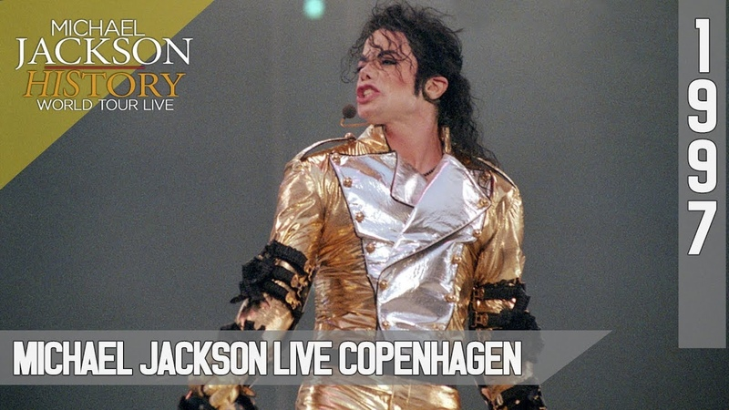 Michael Jackson Live HIStory World Tour Copenhagen 1997 60fps