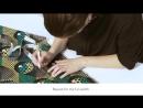 DIY MIDI WRAP SKIRT TUTORIAL - VLISCO TELL COLLECTION