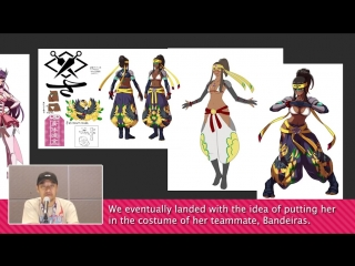 Ax2018 - designing the heroines of snk with eisuke ogura