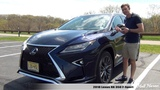 Review 2018 Lexus RX 350 F-Sport AWD - Solid and Sporty