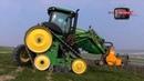 Exceptionnel JOHN DEERE 8295RT vineyard tracks tractor
