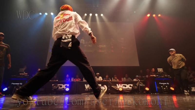 RUSHBALL(KYOKA MAiKA) vs Stalmuerte Diablo BEST4 HIPHOP WDC 2018 FINAL World Dance Colosseum