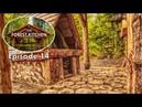 FREE Hardwood Floor for the Outdoor Kitchen | Off Grid Log Cabin | Forest Kitchen