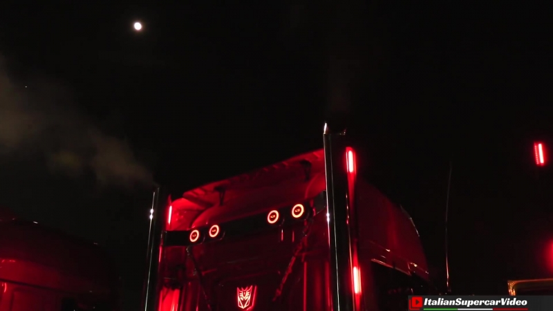 Misano 2018 Camion Decorati by Night ⁄ Custom Trucks Night Show - Weekend del Camionista - Part 2