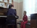 Занятие проводит Аксененко Л В с Агатой Гаврилюк 3 года МБУДО ДШИ № 28
