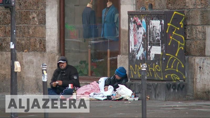 🇫🇷 Sleeping rough in Paris: Homeless numbers on the rise | Al Jazeera English