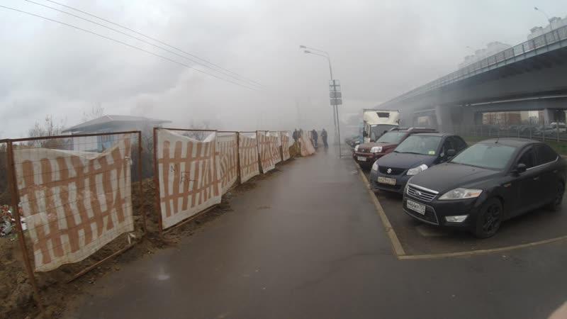 Почти круглосуточно жгут мусор. СНТ Зелёная Зона, Люберцы, Московская область
