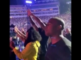 Oprah Winfrey in LA concert