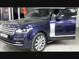 Автоматическая тонировка Range Rover Vogue