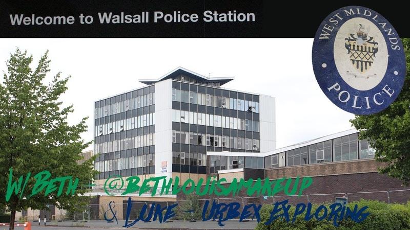 ABANDONED West Midlands Police Station