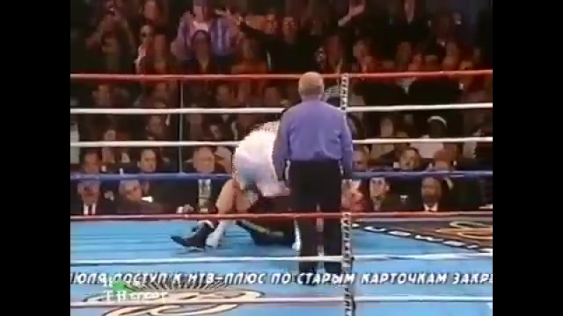 Леннокс Льюис vs Виталий Кличко (полный бой) [21.06.2003]
