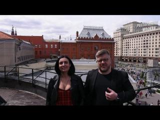 Ведущие Дуэт Небо на двоих -видео обзор ресторана Старая Башня -больше видео обзоров на сайте www.рестораннаямосква.рф