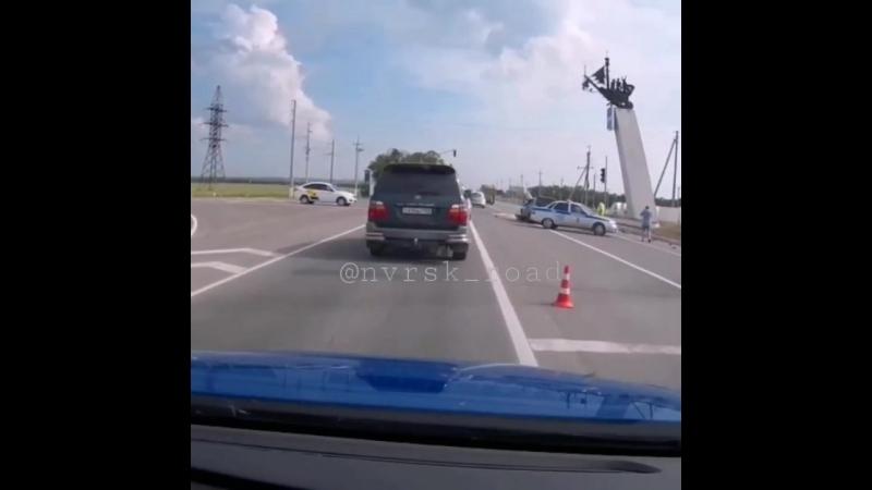 23 05 18 жёсткое ДТП Анапа поворот на аэропорт