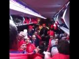 Сборная России по хоккею поют гимн!