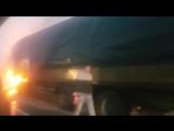 Загорелась фура на подъезде к Ростову - 18.12.17 - Это Ростов-на-Дону!