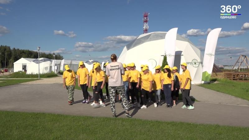 В лагере Настоящих героев в парке Патриот стартовала смена для девочек