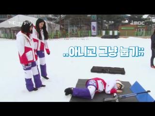 180127 Sowon, Yerin, Eunha (GFRIEND) @ MBC 2018 Pyeongchang Winter Olympics Backstage