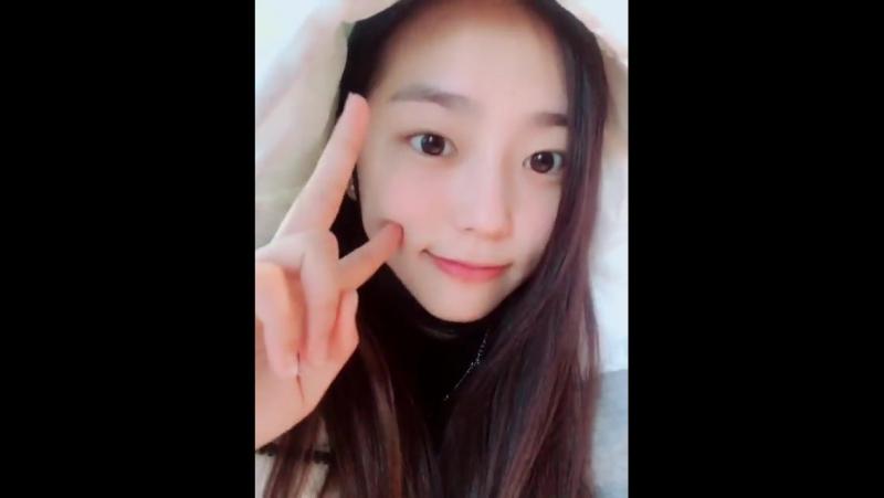 171231 Yeeun @ Fancafe