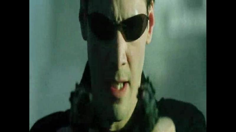 Матрица - Нео уклоняется от выстрелов! Тринити в недоумении!(roleplay_for_the_movie_matrix)