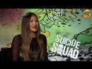 Karen Fukuhara Margot Robbie and Jai Courtney Interview Suicide Squad