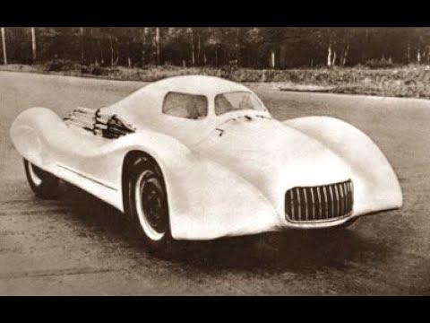 Рекордно гоночный автомобиль Москвич Г2