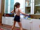 Танец известной балерины XD