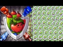 Plants vs Zombies 2 BattleZ The Ultimate Apple Mortar Straight Path Attack