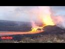 🔥 Огненная река Лава вулкана Килауэа на Гавайях США