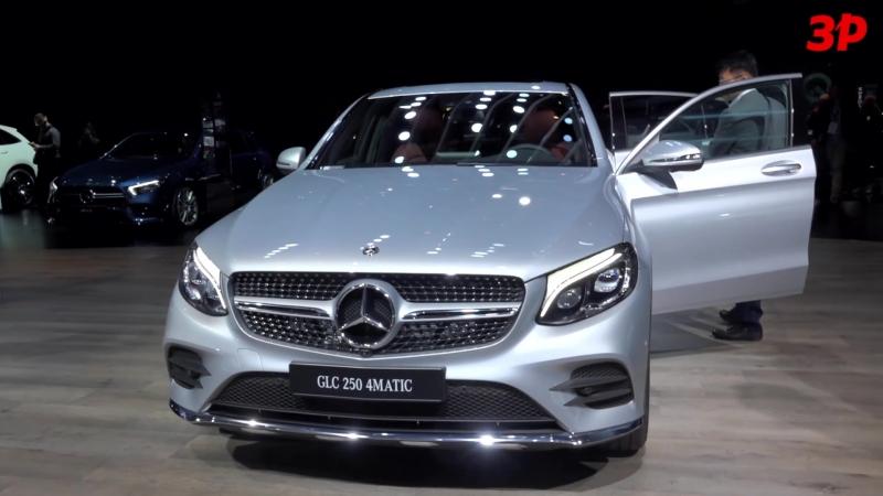 Кроссовер Merсedes-Benz EQC400 в Париже — видеообзор