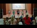 Танец Колёсики. Лагерь дневного пребывания Ново - Харитоновская СОШ №10 2018