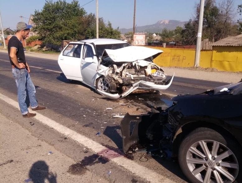 ДТП в Кардоникской: пострадали четыре человека