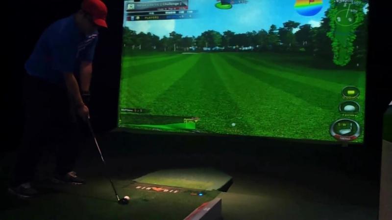 Гольф симулятор из Кореи