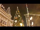 Каток на Красной Площади в Москве!