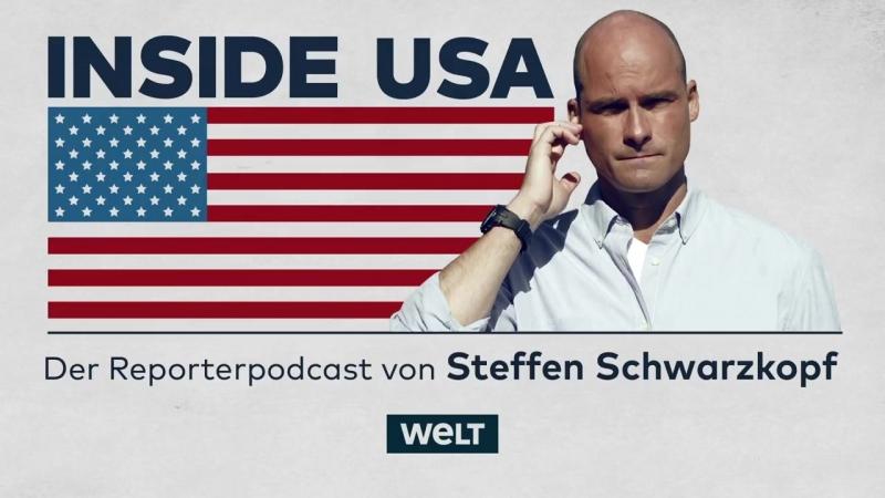Schlaflos zwischen Trump und Gaza - -3 Inside USA – Der Reporterpodcast von Steffen Schwarzkopf