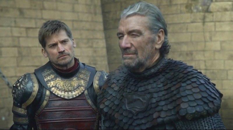 El Pez Negro conversa con Jaime Lannister Juego de Tronos Español HD
