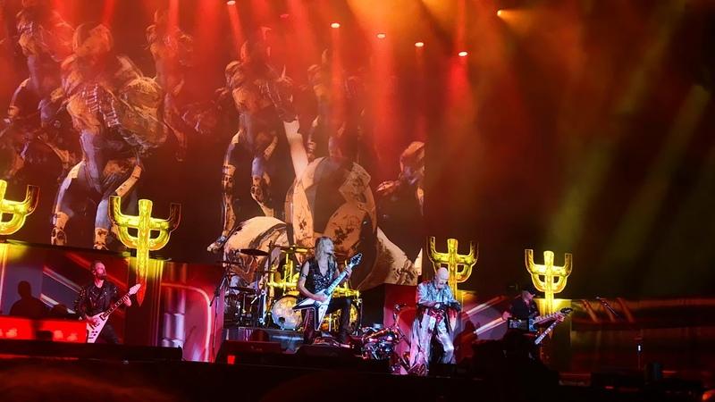 Judas Priest with Glenn Tipton Metal Gods Breaking The Law Sweden Rock Festival 2018 06 09