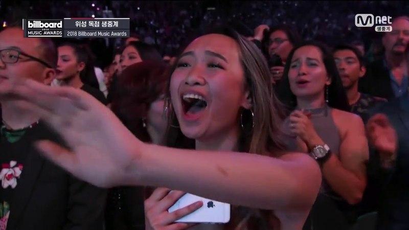 BTS FAKE LOVE live BMA 2018