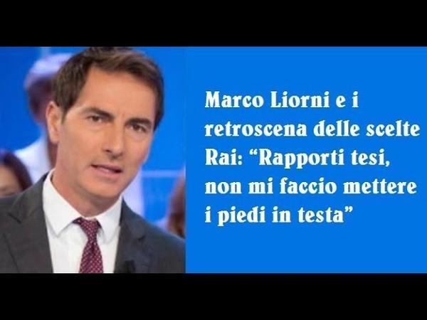 Marco Liorni, cannonata contro la Rai: ECCO PERCHE' NON HO AVUTO L'EREDITA',Era tutto deciso!