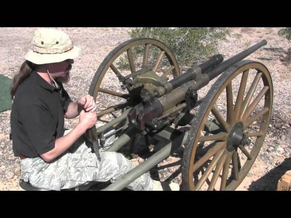 Bethlehem Steel 37mm Cannon - WWI Era
