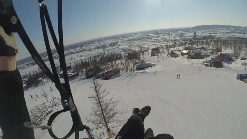 Первые полеты за полярным кругом в 2018г.