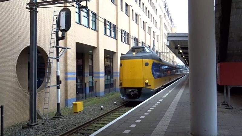ICM met 12 bakken vertrekt vanaf Station Amersfoort!